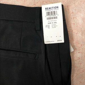 NWT Men's Black Kennith Kole Reaction Pants, 30x30